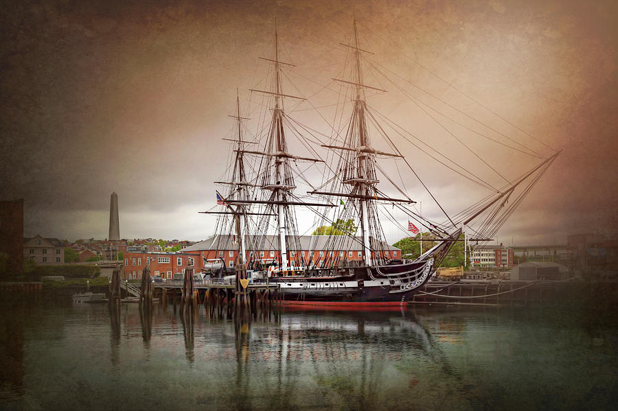 Boston Photograph - Uss Constitution Boston  by Carol Japp