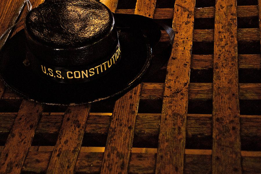 Uss Constitution Photograph - Uss Constitution by Gene Sizemore