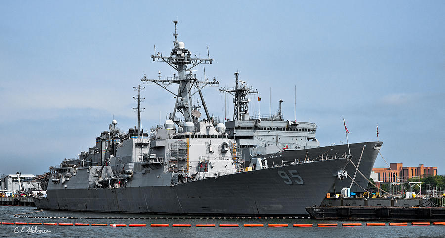 Ship Photograph - Uss James E. Williams Ddg-95 by Christopher Holmes