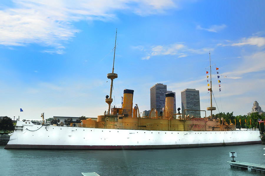Spanish American War Photograph - Uss Olympia by Bill Cannon