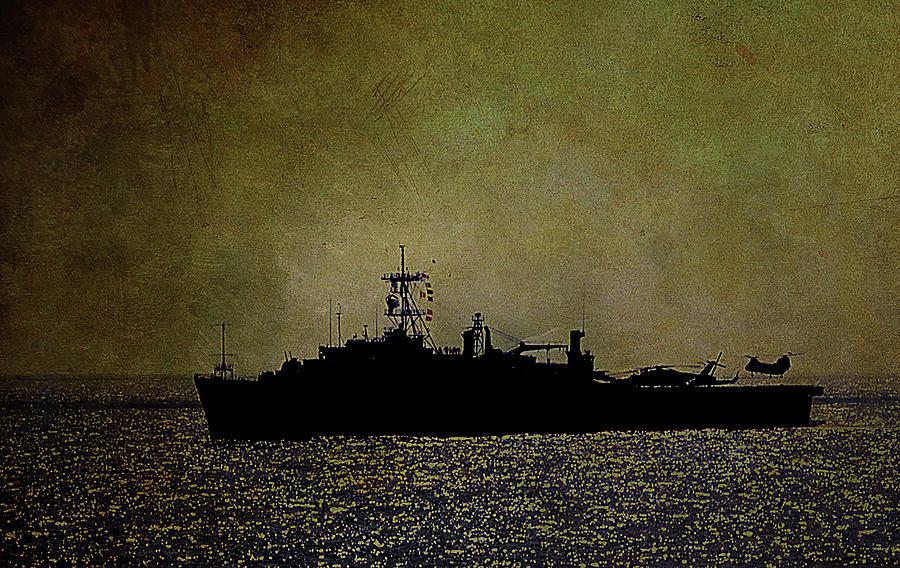 USS Ponce LPD 15 Naval Ship Photo Print USN Navy