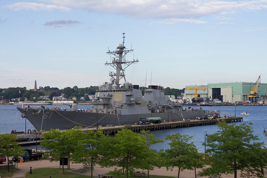 Uss Ramage In New London Photograph