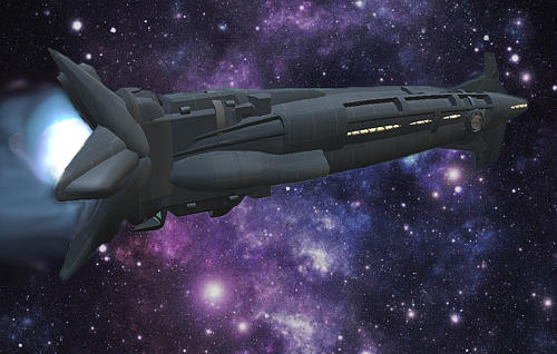 Imaginary Starship Commercial Passenger Galactic Travel Digital Art - Uss Solisice by Don Perino