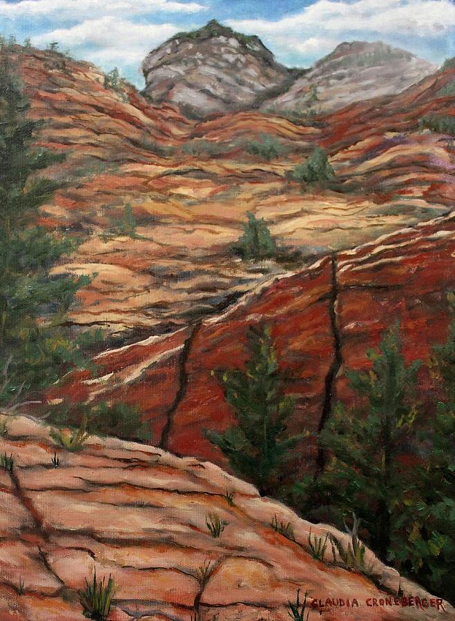 Desert Painting - Utah Paradise by Claudia Croneberger