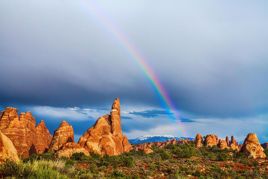 Utah Rainbow Photograph