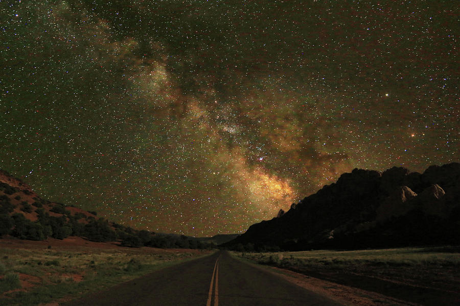 Milky Way Photograph - Utah Skies by Donna Kennedy