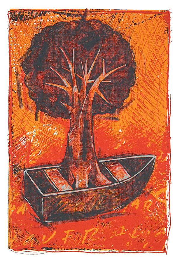 Manuel Velasquez Print - Utopia by Manuel Velasquez