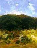 Landscape Painting - Utranchal-4 by Dinesh Baduni