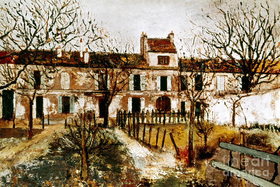 1908 Photograph - Utrillo: Montmagny, 1908-9 by Granger