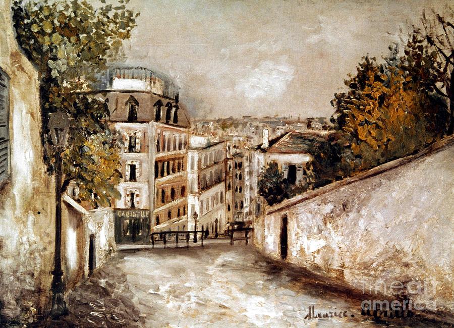 20th Century Photograph - Utrillo: Montmartre, 20th C by Granger