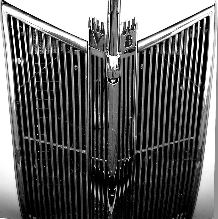 Automobile Photograph - V8 by Audrey Venute