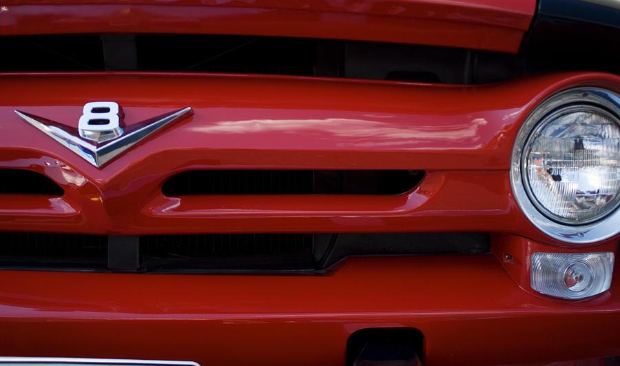 Automobile Photograph - V8 by Rockstar Artworks