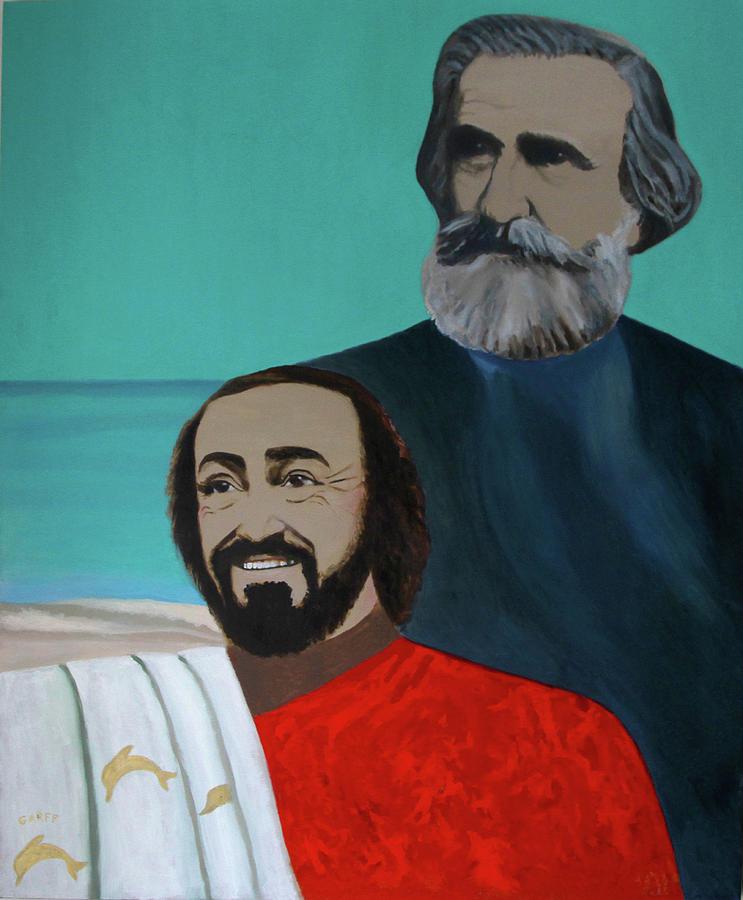 Luciano Pavarotti Painting - Va Pensiero by Enrico Garff