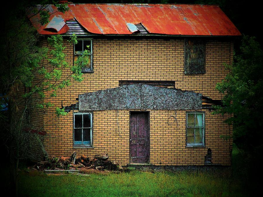 Vacant Photograph - Vacant House by Michael L Kimble
