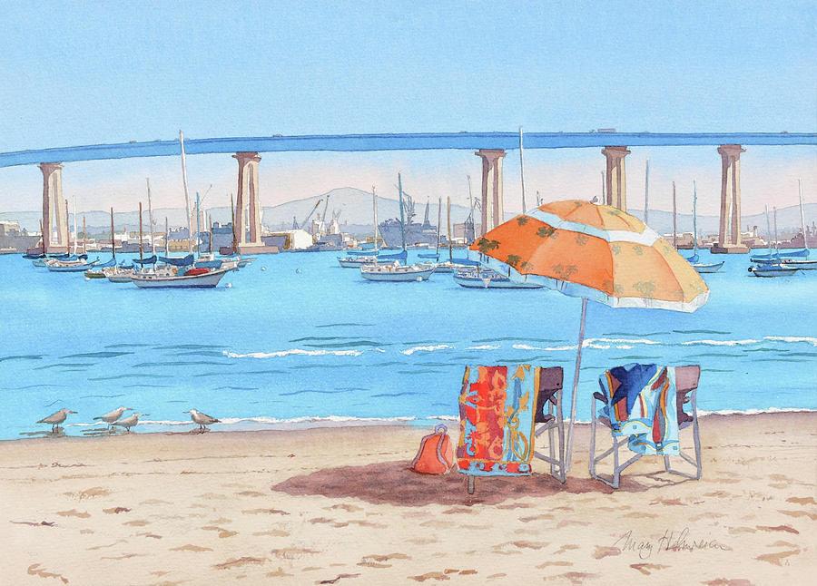 Vacation in Coronado California by Mary Helmreich