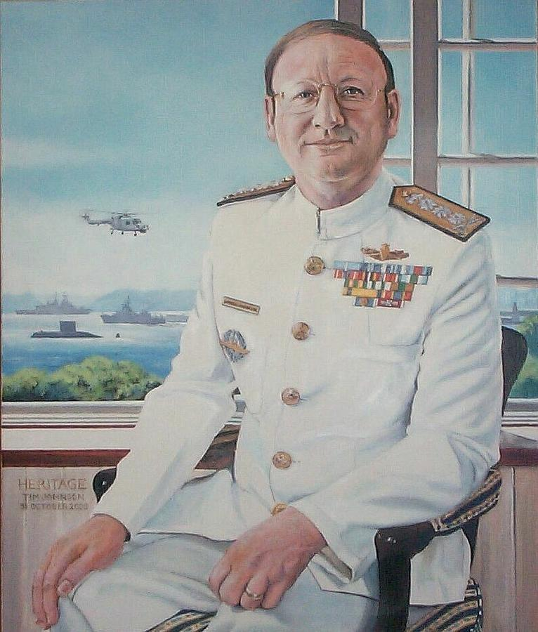 VAdm Robert Claude Simpson-Anderson by Tim Johnson