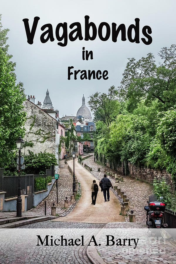 Sacre Coeur Photograph - Vagabonds In France Book Cover by Liesl Walsh