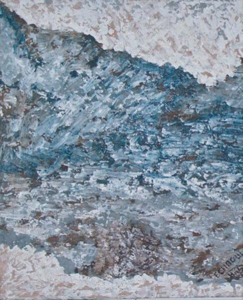 Vagues 2004 Relief by Halima Echaoui