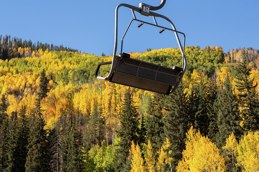 Vail In The Fall Photograph