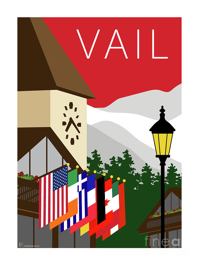Vail Red by Sam Brennan