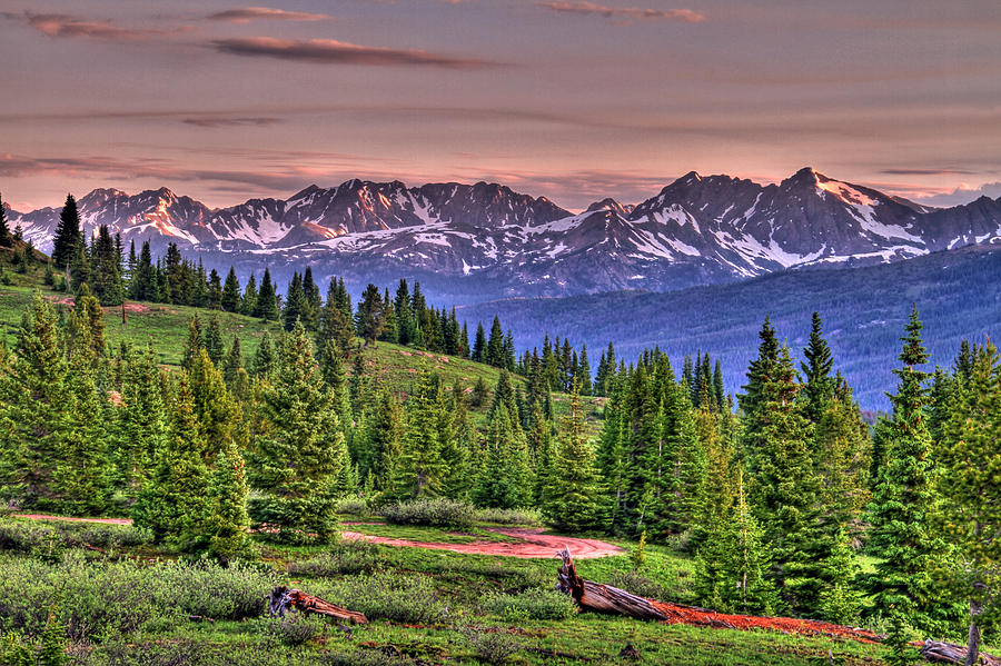 Colorado Photograph - Vail View by Scott Mahon