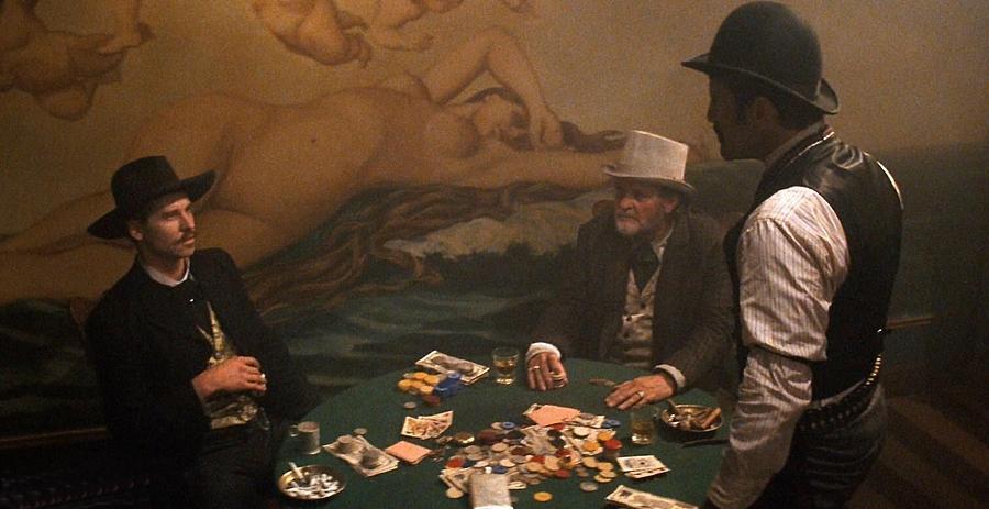 Val Kilmer As Doc Holliday Gambling Tombstone Set 1993-2015 Photograph by David Lee Guss