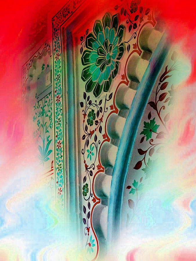 Valentine Heart Dreams Series Abstract Udaipur Rajasthan India 1a by Sue Jacobi