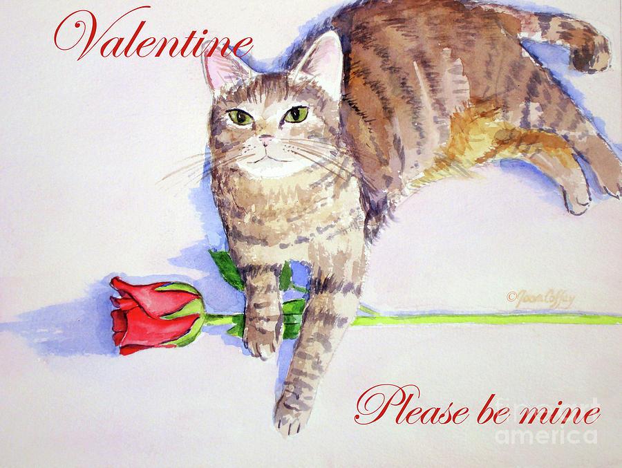 Valentine Mocha 1 by Joan Coffey