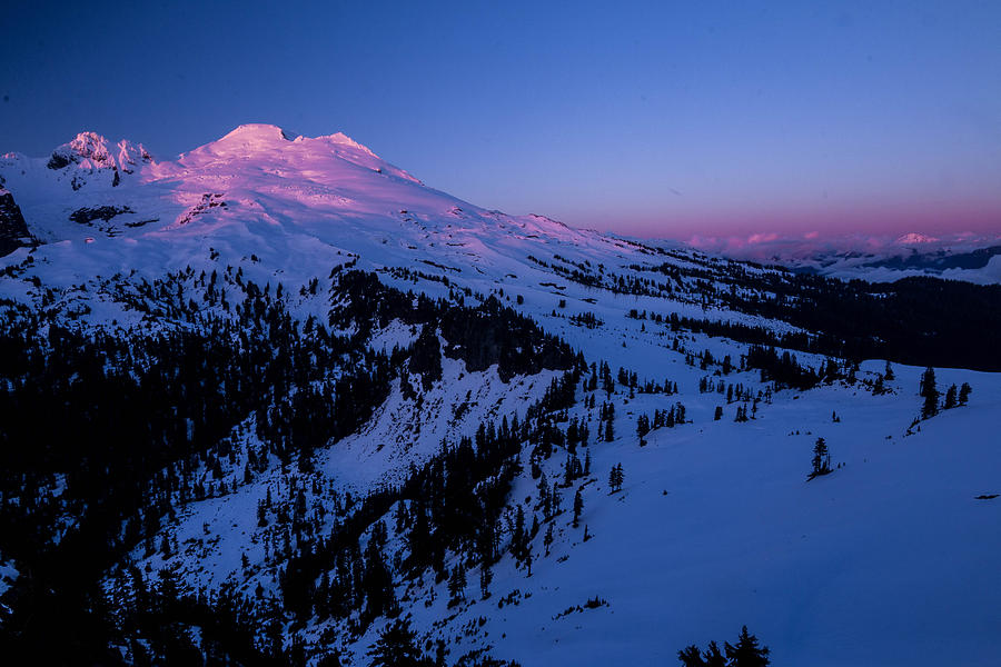 Mt. Photograph - Valentine by Ryan McGinnis