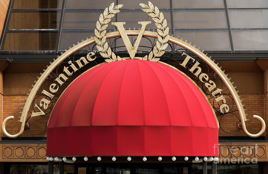 Valentine Photograph   Valentine Theater In Toledo Ohio By Kenneth Lempert