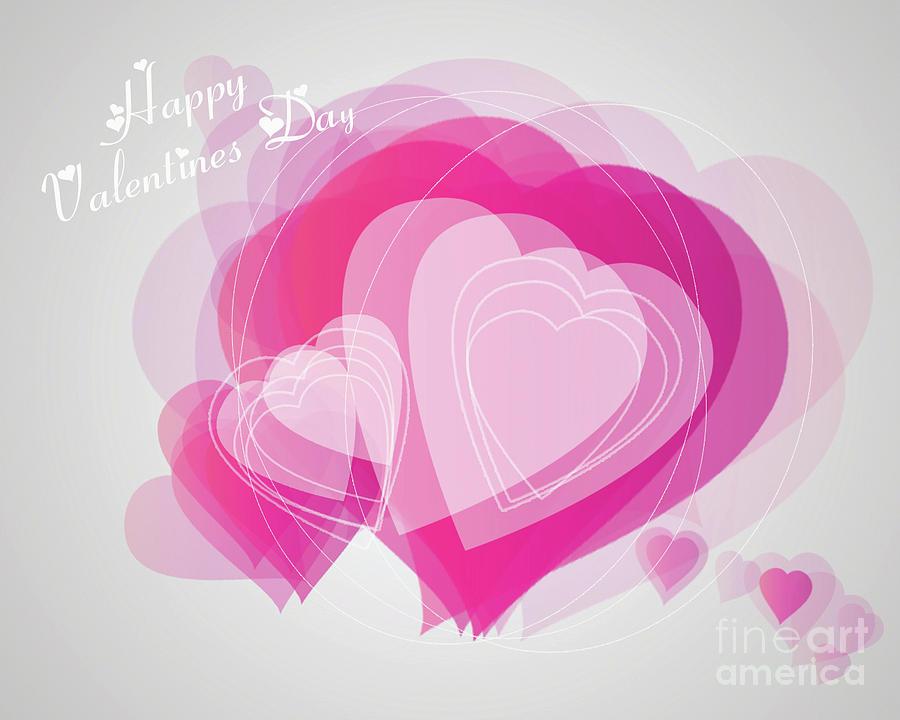 Valentines Day Heart Card by Scott Parker