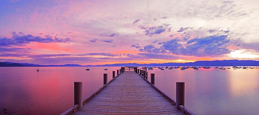 Valhalla Pier Sunrise by Brad Scott by Brad Scott