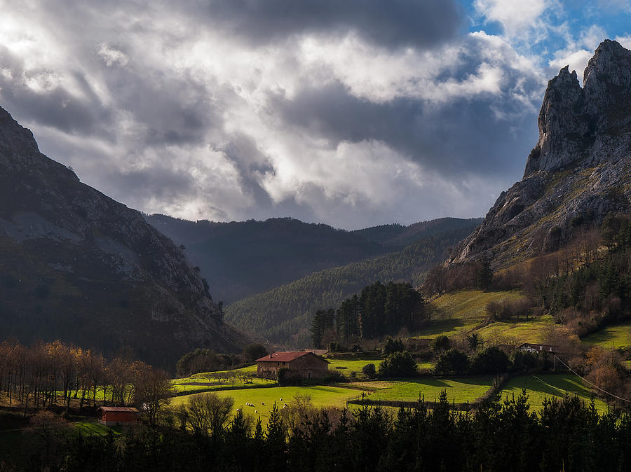 Valley Photograph by ACAs Photography