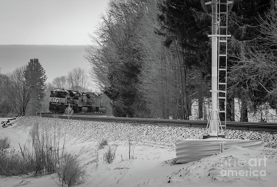 Valley Express Photograph by Darren Walker