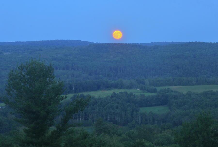Valley Moonrise Photograph