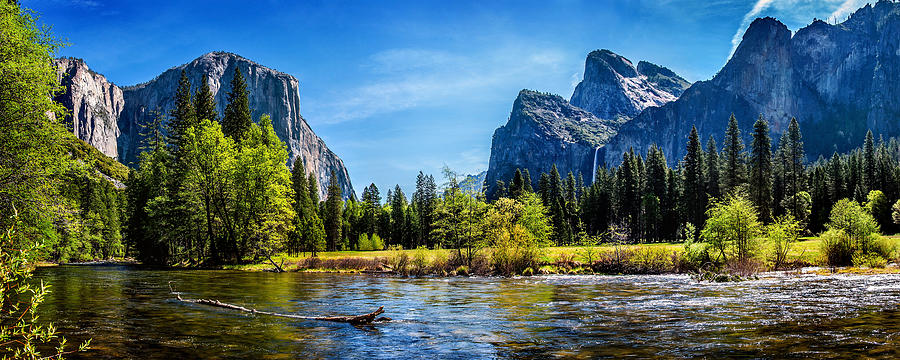United States Of America Photograph - Tranquil Valley by Az Jackson