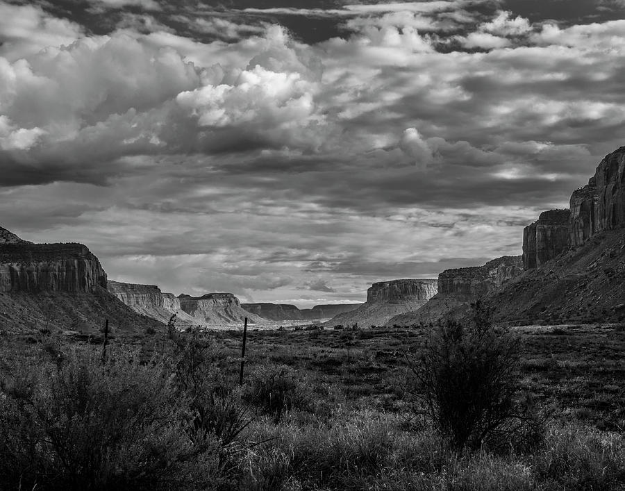 Southwest Photograph - Valley by Rick Bivona