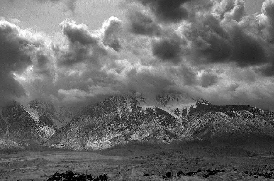 Landscape Photograph - Valley Storm by John Derousseau
