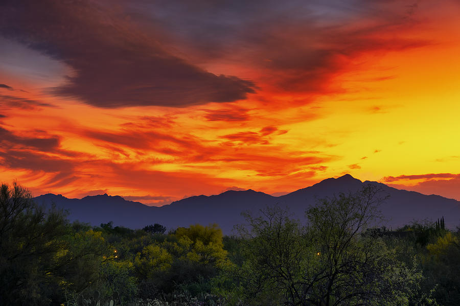 Valley Sunset H32 Photograph