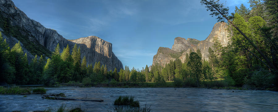 Valley View Yosemite N P Photograph