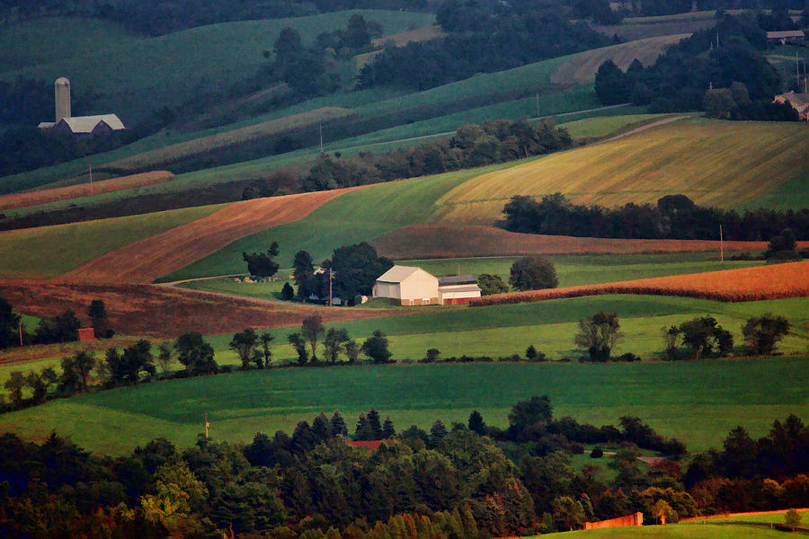 Landscape Photograph - Valley by William Jobes