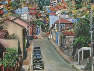 Valparaiso Painting - Valparaiso by Vanessa Michalak