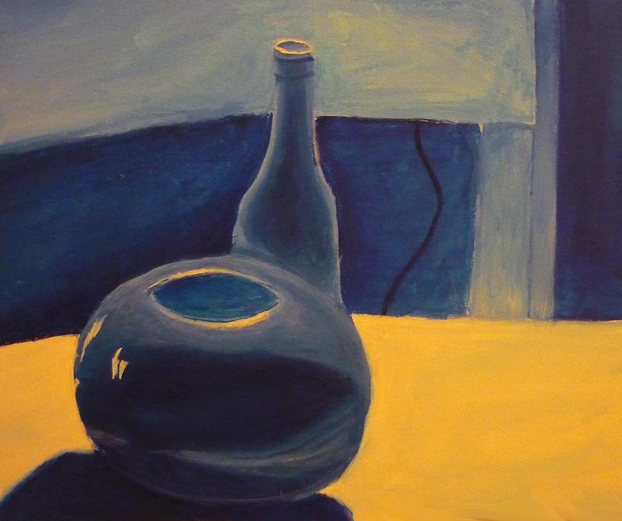 Still-life Painting - Value Still-life by Christian  Hidalgo