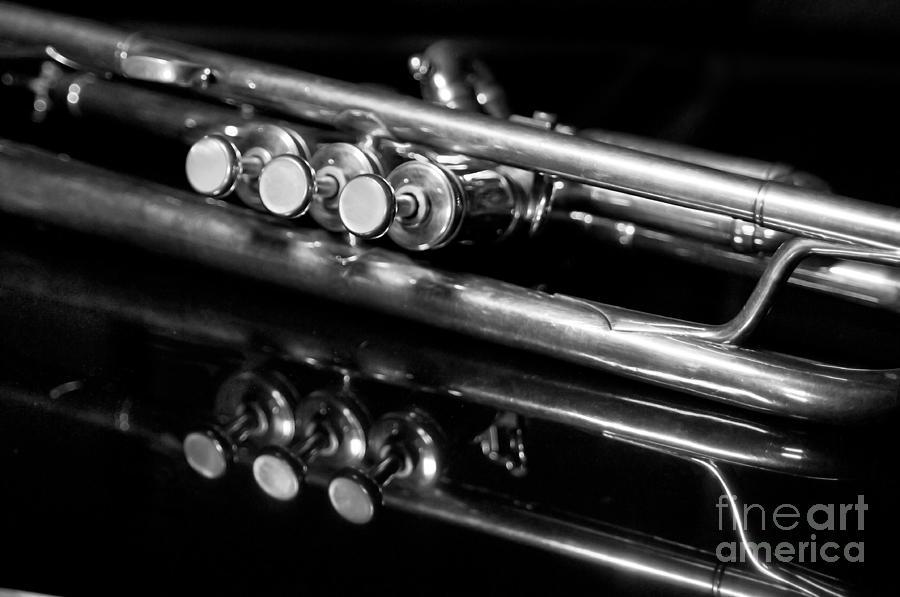 Music Photograph - Valves by Dan Holm