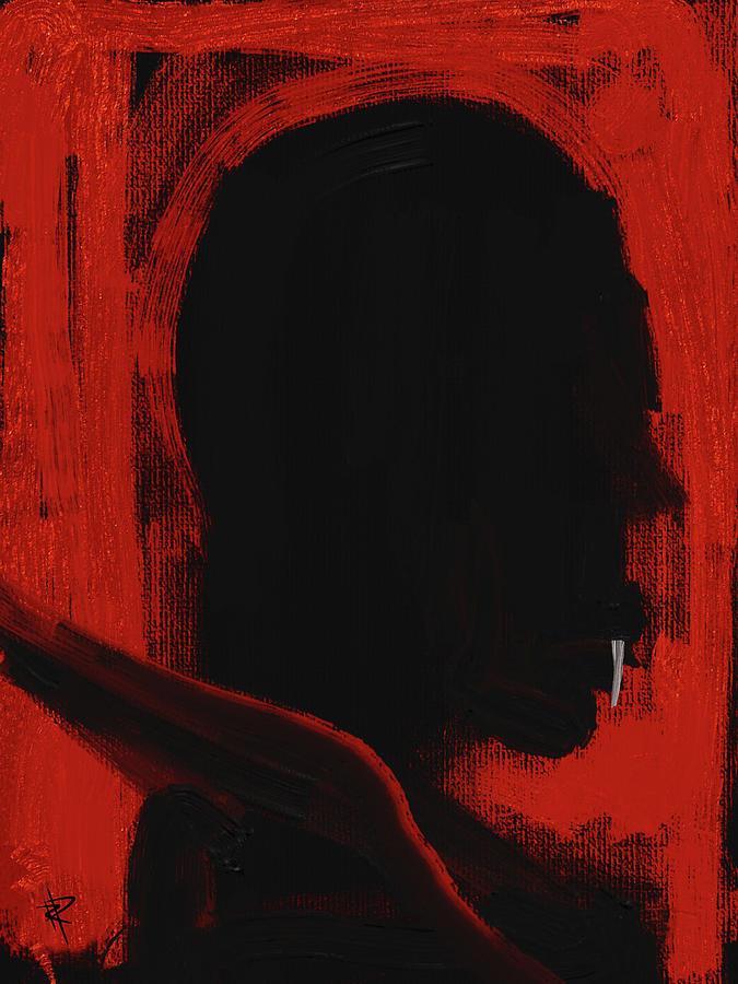 Dracula Mixed Media - Vampire by Russell Pierce