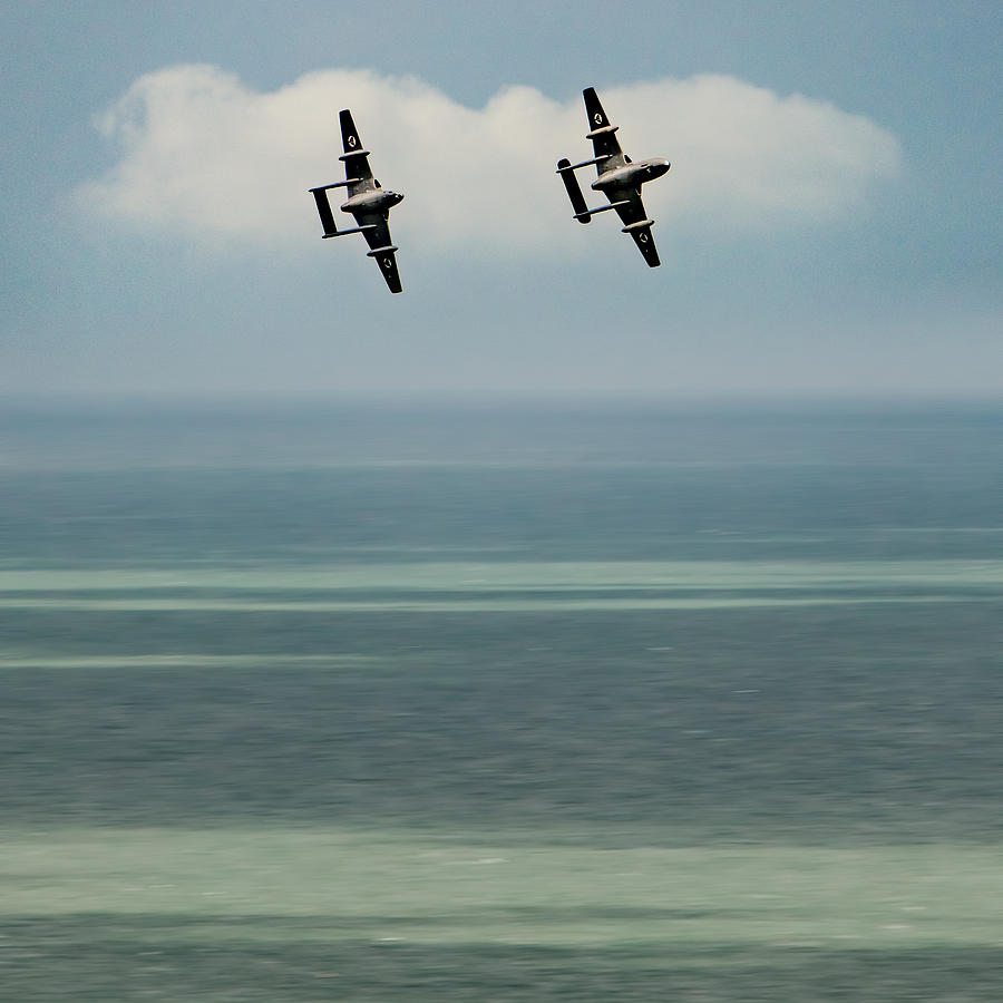 Vampires Over The Channel Photograph