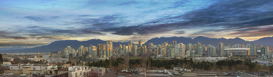 Vancouver Photograph - Van City Sunrise by David Gn