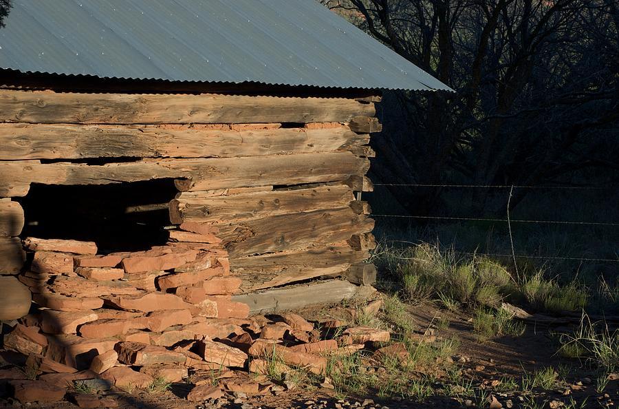 Homesteader Photograph - Van Deren Cabin by Susan Heller