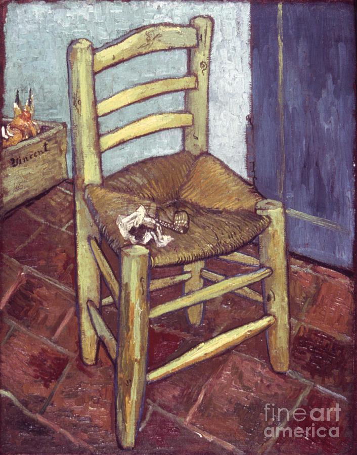 1888 Photograph - Van Gogh: Chair, 1888-89 by Granger