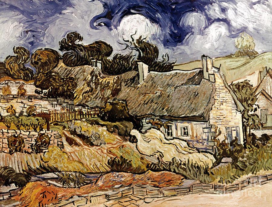 1890 Photograph - Van Gogh: Cordeville, 1890 by Granger